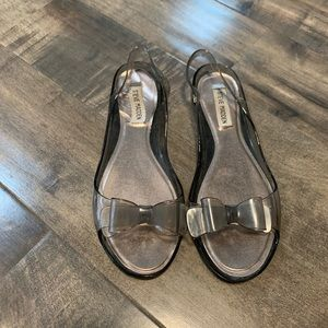 Steve Madden Jelly Bow Flats size 39